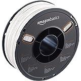 AmazonBasics ABS 3D Printer Filament, 1.75mm, White, 1 kg Spool (Color: White, Tamaño: 1.75mm)