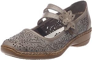 Rieker 41372/63, Chaussures de ville femme   l'examen des produits de plus amples informations