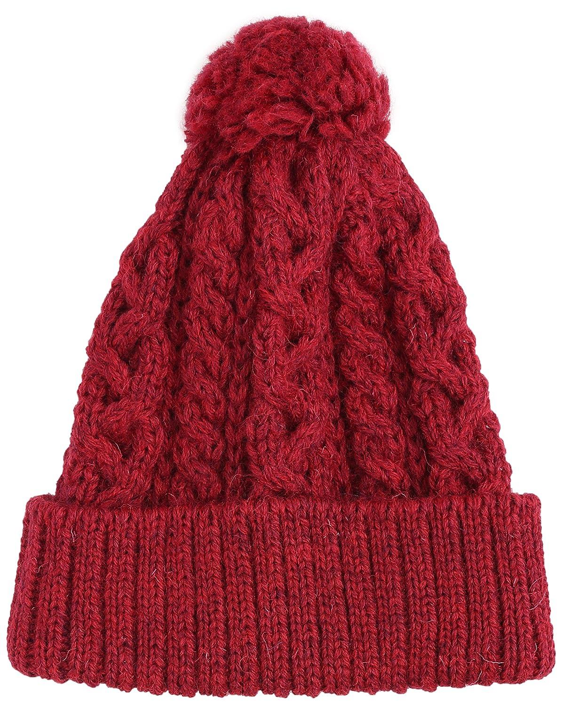 Amazon.co.jp: (ビューティーアンドユースユナイテッドアローズ) BEAUTY&YOUTH UNITED ARROWS BYBC HIGHLAND 2000 ケーブルポンポンニットキャップ 18383991863 35 Red フリー: 服&ファッション小物通販