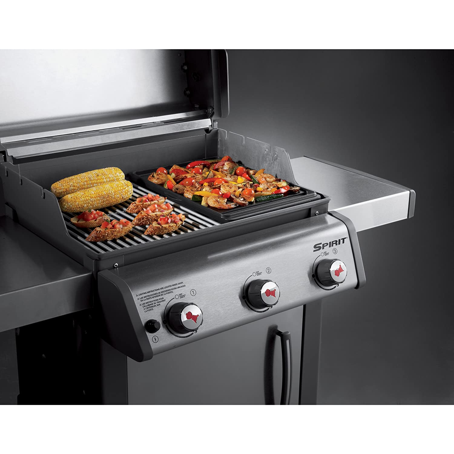Plancha weber spirit 320 top plancha for Plancha interieur