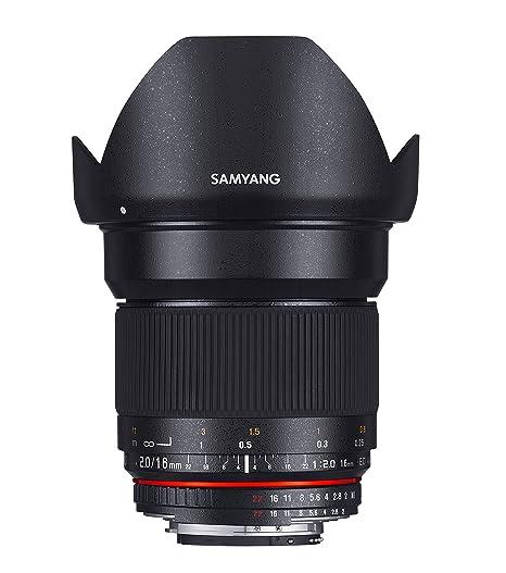 Samyang 16mm f/2.0 Four Thirds Objectif Noir