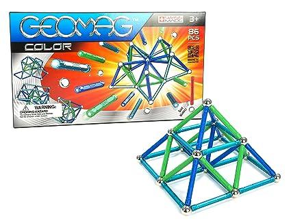 Geomag - 254 - Jeu de Construction - Color - 86 Pièces