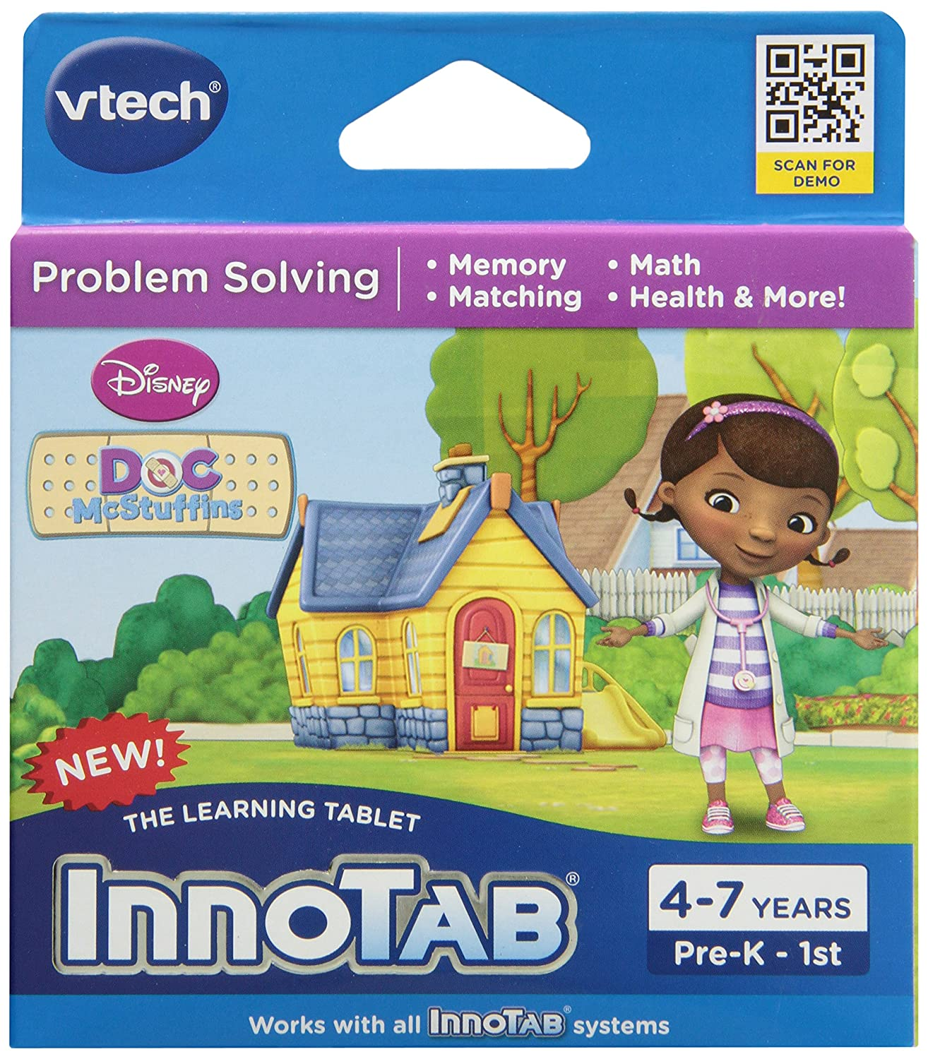 AmazonSmile: VTech InnoTab Doc McStuffins Game Software: Toys & Games