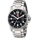 Luminox Men's A.1822 Field Time Date Stainless Steel Watch (Color: black)
