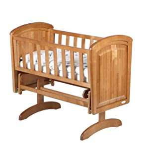 Troll Nicole Glider Crib (Natural)       BabyCustomer review and more description