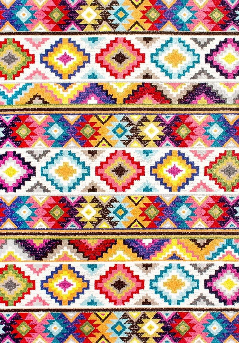 nuLOOM Geometric Soft Southwestern Tribal Diamonds Area Rug