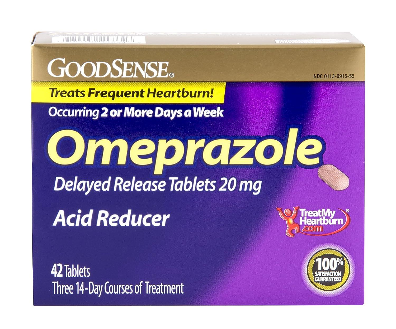 Acid reflux medication omeprazole