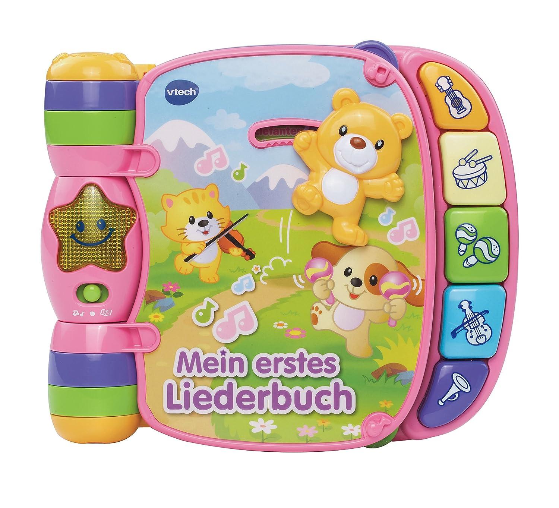 VTech Baby 80-166754 - Babyspielzeug - Mein erstes Liederbuch, pink