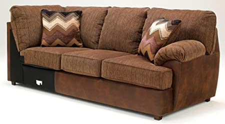 Cladio Hickory Right Arm Facing Sofa