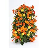 Apollo Exports International AP-FT002 Freestanding Flower Tower, 3-feet (Color: Black, Tamaño: Freestanding, 3-feet)