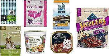 Dog Food and Treats Sample Box + $11.99 Amazon Credit