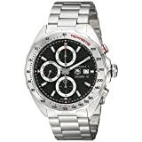 TAG Heuer Men's CAZ2010.BA0876 Analog Display Swiss Automatic Silver Watch (Color: black)