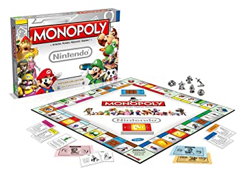 Winning Moves - 0944 - Monopoly Nintendo - Version Française