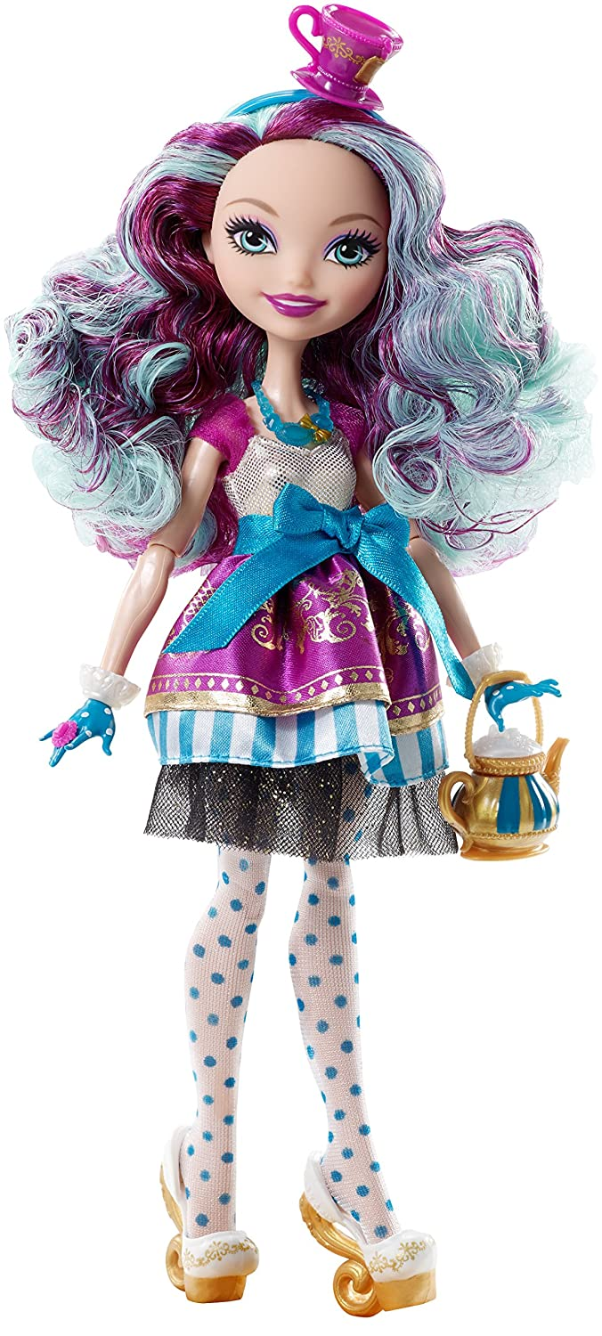 EVER AFTER HIGH DOLL CLOTHES 1ST CHAPTER MADELINE HATTER PURPLE BLUE DRESS ONLY