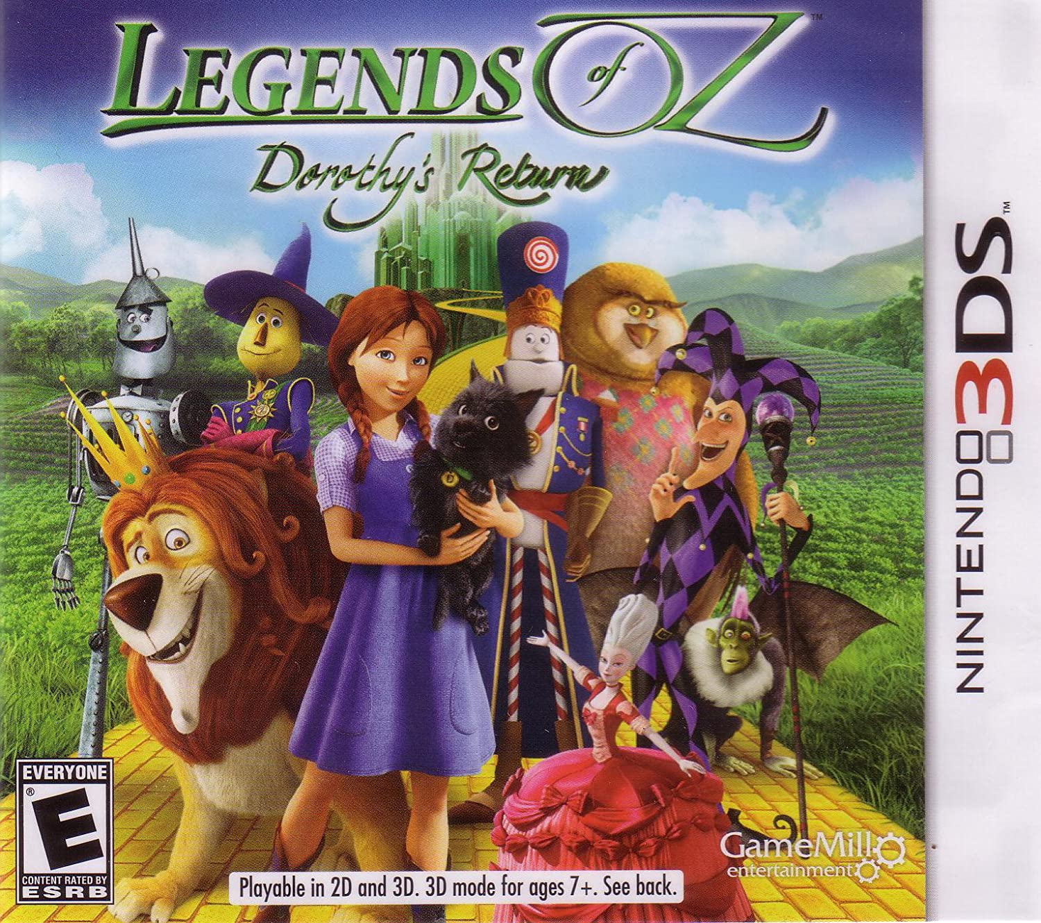 Legends of Oz: Dorothy's Return Nintendo 3DS