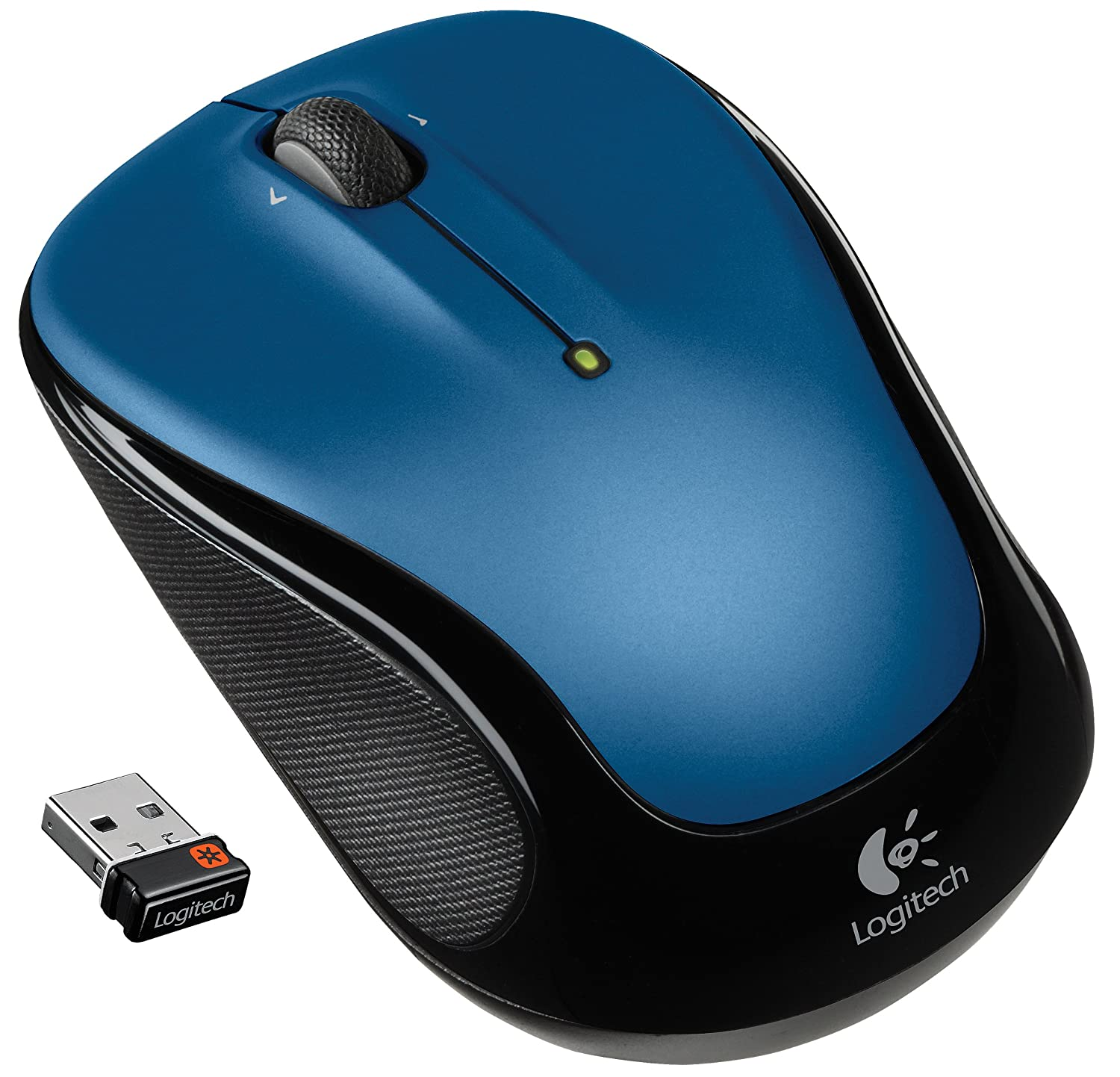 Logitech Wireless Mouse M325 with Designed-For-Web Scrolling – Blue ($12.99)