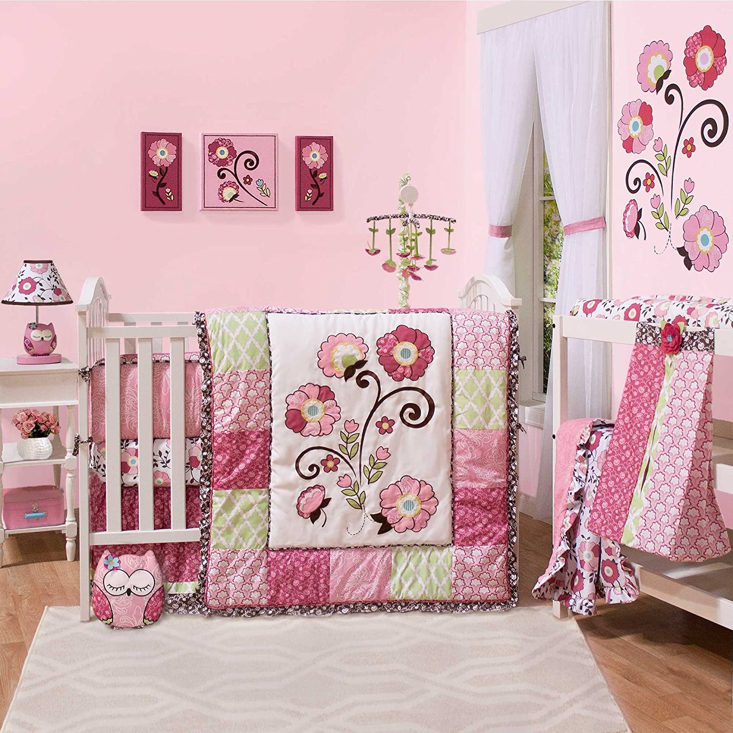The Peanut Shell Lainey Baby Bedding