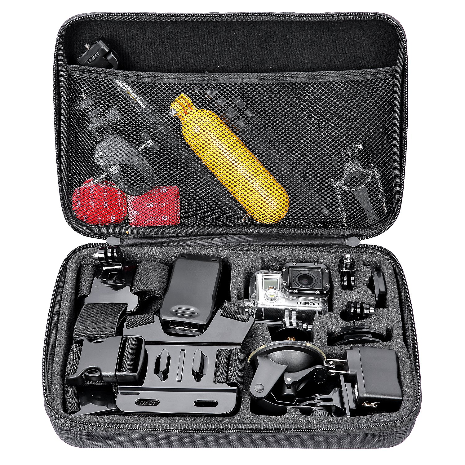 Neewer Shockproof Carrying Case for Gopro Hero 1 2 3 3+ 4 5 6 7 4 Session d3f6ab6aa5f79