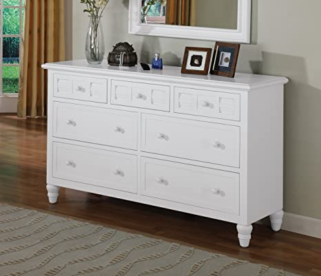 Oceanside 7 Drawer Dresser