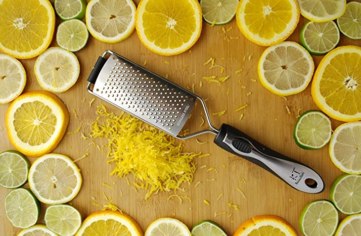 KT Kitchen Tools Cheese Grater & Lemon Zester