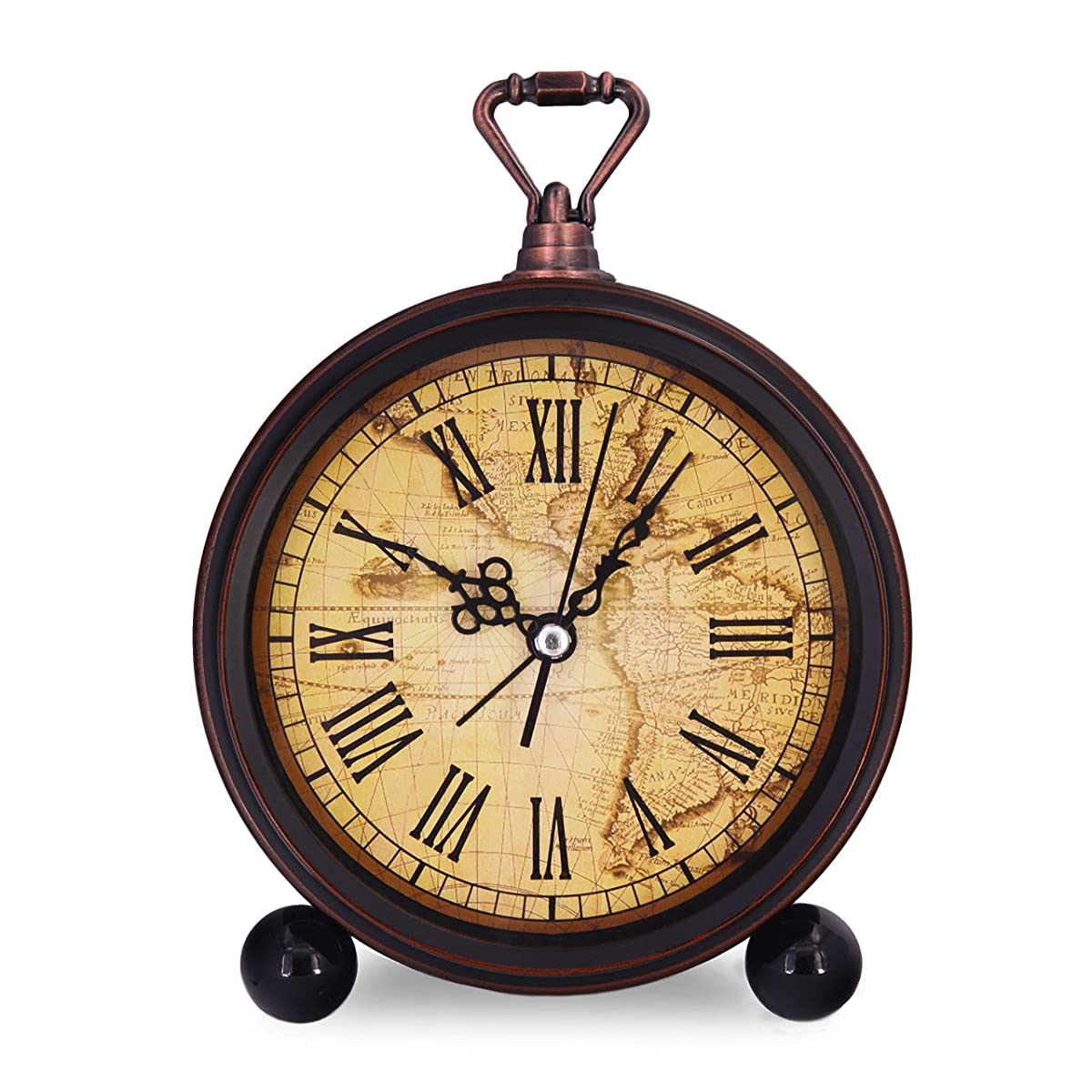 Vintage retro living room decorative non ticking sweep second vintage retro living room decorative non ticking sweep second hand quartz analog large numerals bedside table gumiabroncs Choice Image