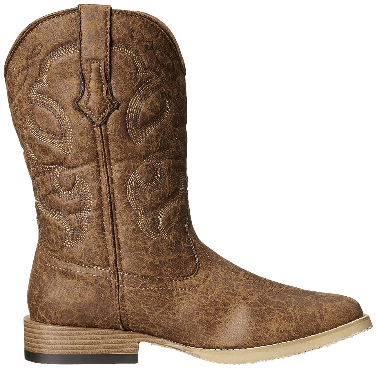 Roper Men's Vintage Square Toe Western Boot 5