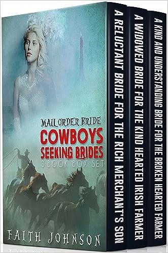 Mail Order Bride : Cowboys Seeking Brides: (Mail Order Brides Box Set) (Western Romance)