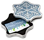 Snowflake Tin Box christmas gifts for boyfriends parents