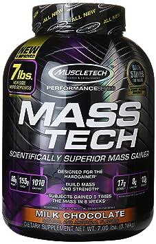 Muscletech Mass-Tech - Chocolate, 1er Pack (1 x 3.18 kg)