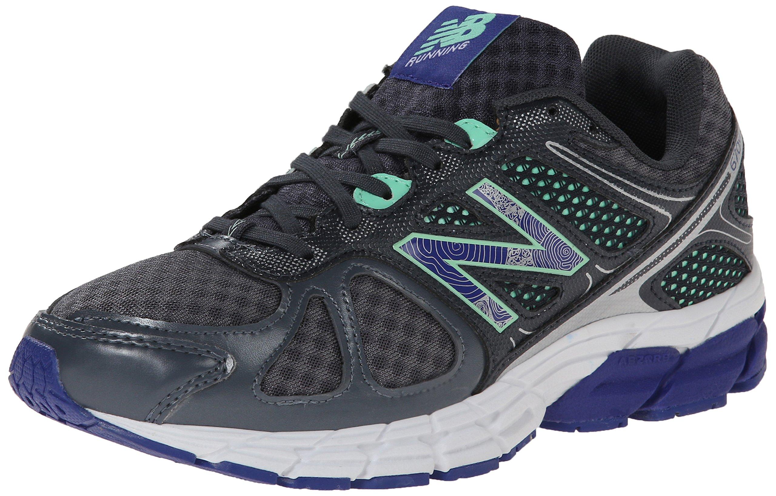 Giầy chính hãng New Balance Women's W670V1 Running Shoe, màu Lead/pistachio, size 6 US/36 EU - 23.5 cm