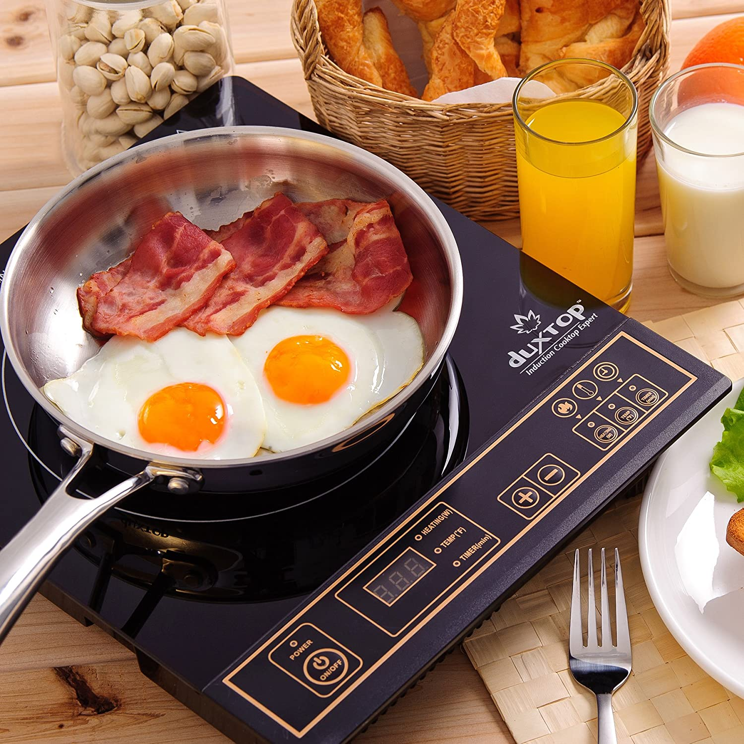 DUXTOP 1800-Watt Portable Induction Cooktop