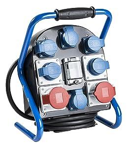 as  Schwabe 60902 Tragbarer Stromverteiler CEE VTG9 FiL 25.6S, IP44 Gewerbe, Baustelle  BaumarktKundenbewertung und weitere Informationen