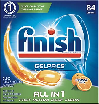 84-Count Finish All-in-1 Gelpacs Dishwasher Detergent Tablets