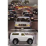 Hot Wheels CUSTOM OJ Simpson Run Away '85 FORD BRONCO Real Riders Rubber Wheels Limited Edition 1/25 Made!