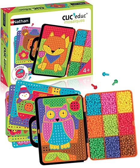 Nathan - 31607 - Jeu - Clic Educ Mosaique