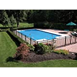 Thermo-Tex 18'x36' Rectangle Swimming Pool Solar Cover, 3-Year (Color: Blue, Tamaño: 18' x 36')