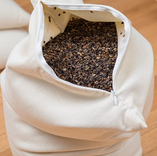 ComfySleep Traditional Buckwheat Pillow Review
