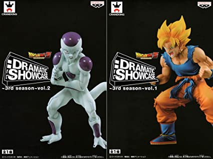 Dragon Ball Z DRAMATIC SHOWCASE ~ 3rd season ~ vol.1 & 2 (2 PCS Set)