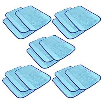 SHP ZONE Microfiber Pro Clean Mopping Cloths for Braava Floor
