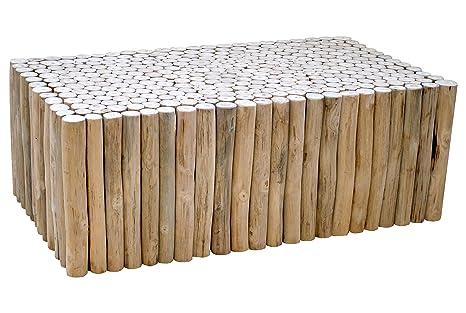 Table basse en teck 110 cm Refuge