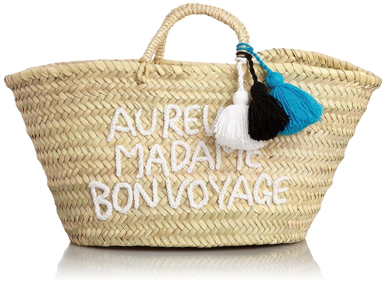 Amazon.co.jp: [ファティマモロッコ] Fatima Morocco レタータッセルバスケット 15SS-NOV02 WH (ホワイト): シューズ&バッグ:通販