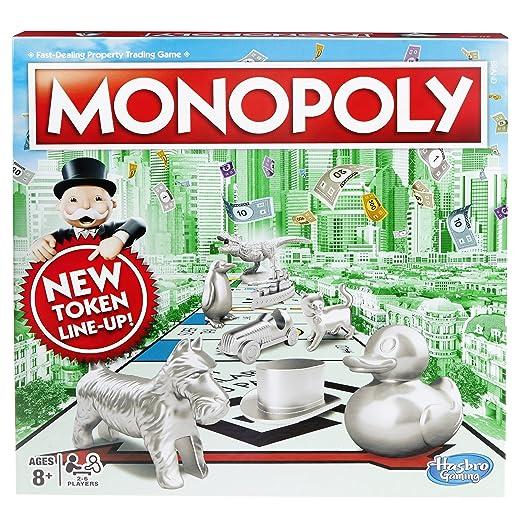 Hasbro – Monopoly – Jeu de Société Monopoly Version Anglaise