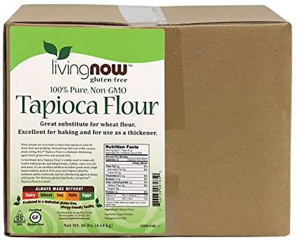 Отзывы Now Foods Tapioca Flour, 10-Pound