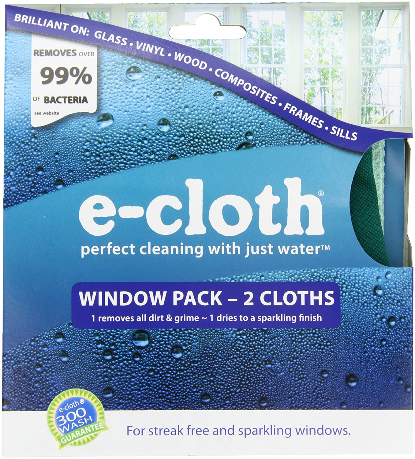 E cloth window cleaning pack 2 piece new free shipping - Best cloth for cleaning windows ...