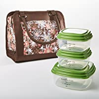 Fit & Fresh Ashland Insulated Lunch Bag with Reusable Container Set (Multiple Colors)