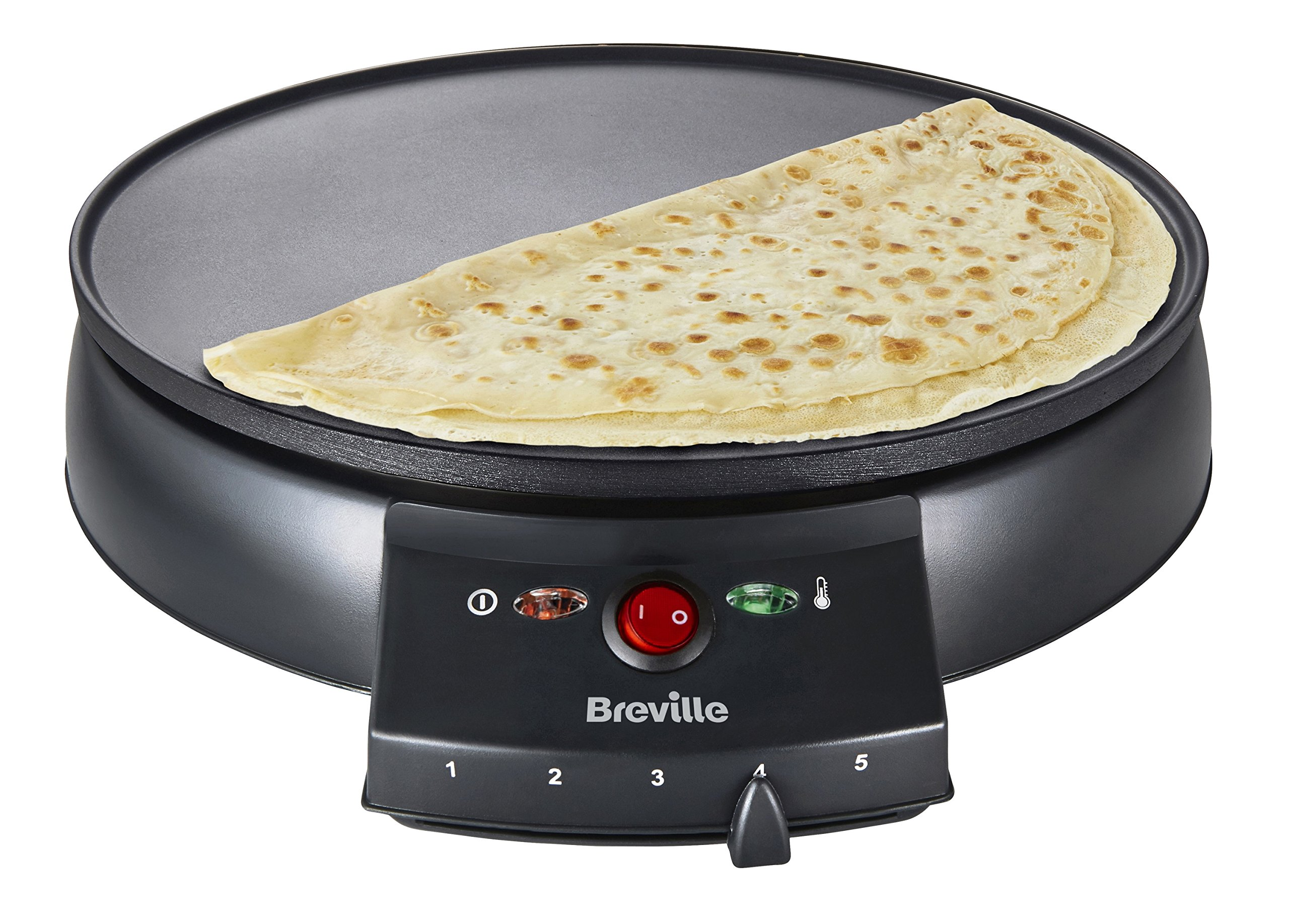 breville vtp130 traditional maker for cooking crepes. Black Bedroom Furniture Sets. Home Design Ideas