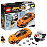 LEGO 75880 Speed Champions McLaren 720S Building Toy, 161pcs, Orange/Black (Color: Multi)