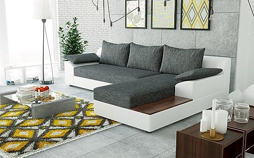 Sofa Couchgarnitur Couch Sofagarnitur NEMO als L Form Polstergarnitur Polsterecke Wohnlandschaft mit Schlaffunktion