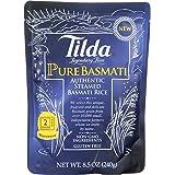 Tilda Legendary Rice Steamed Basmati, Pure, 8.5 Ounce (Pack of 6)