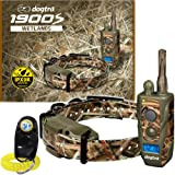 Dogtra 1900S Wetlands Camo Remote Training Collar - 3/4 Mile Range, Waterproof, Rechargeable, Shock, Vibration - Includes PetsTEK Dog Training Clicker (Color: Camo)
